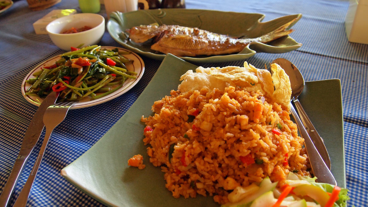 Lombok Urlaub Essen Bali