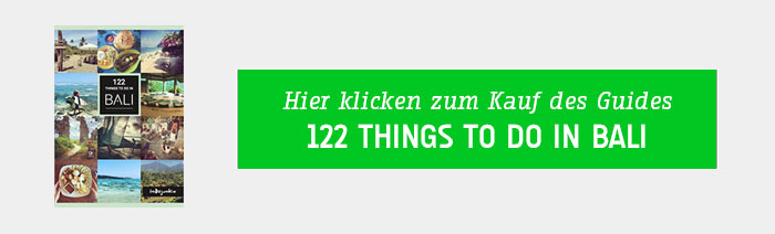 122 things to do in Bali Reiseführer
