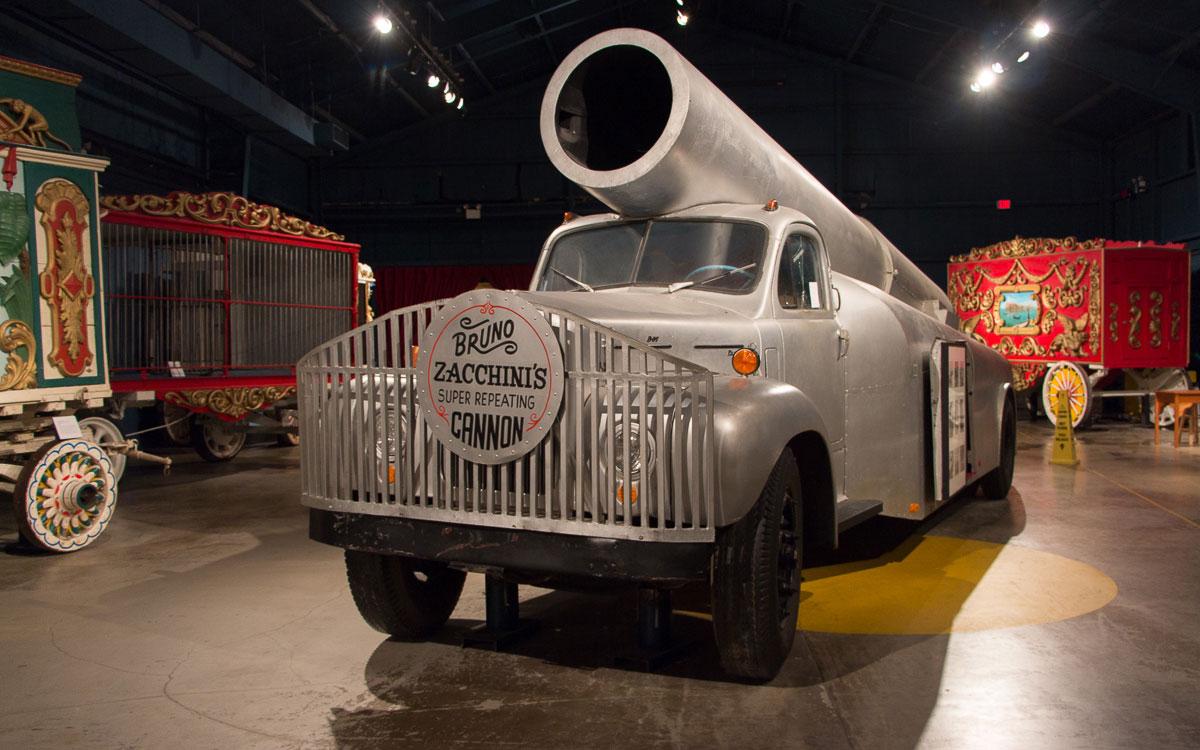 Sarasota Sehenswürdigkeiten Ringling Circus Museum