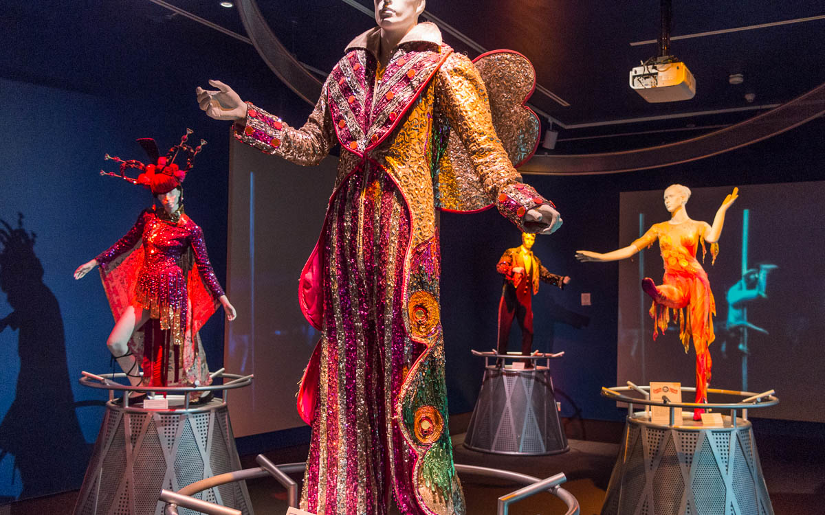 Sarasota Sehenswürdigkeiten Ringling Zikrusmusem Clown Kostüm