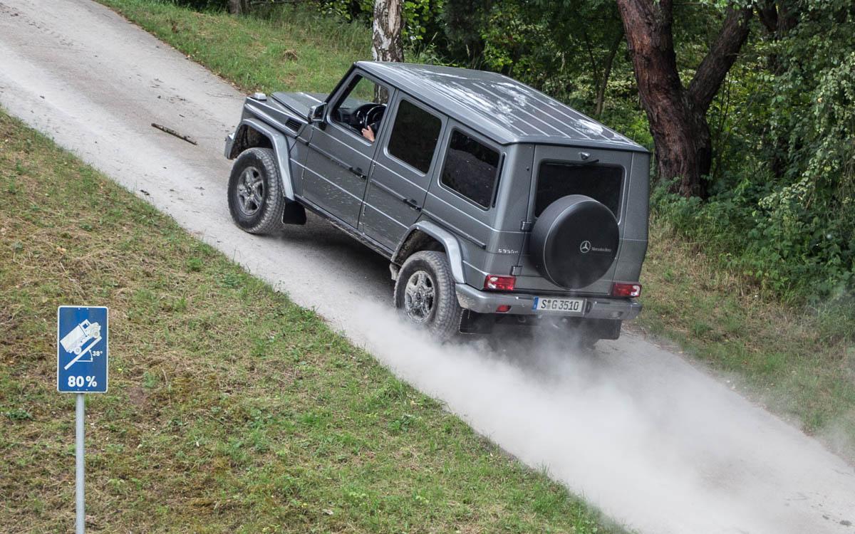 Testgelände Mercedes-Benz Öttigheim G-Klasse