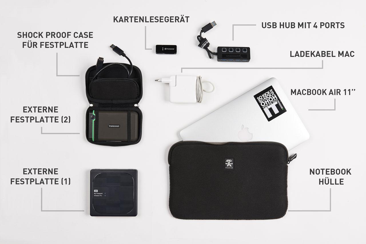Fotoausrüstung Reisen Technik Zubehör