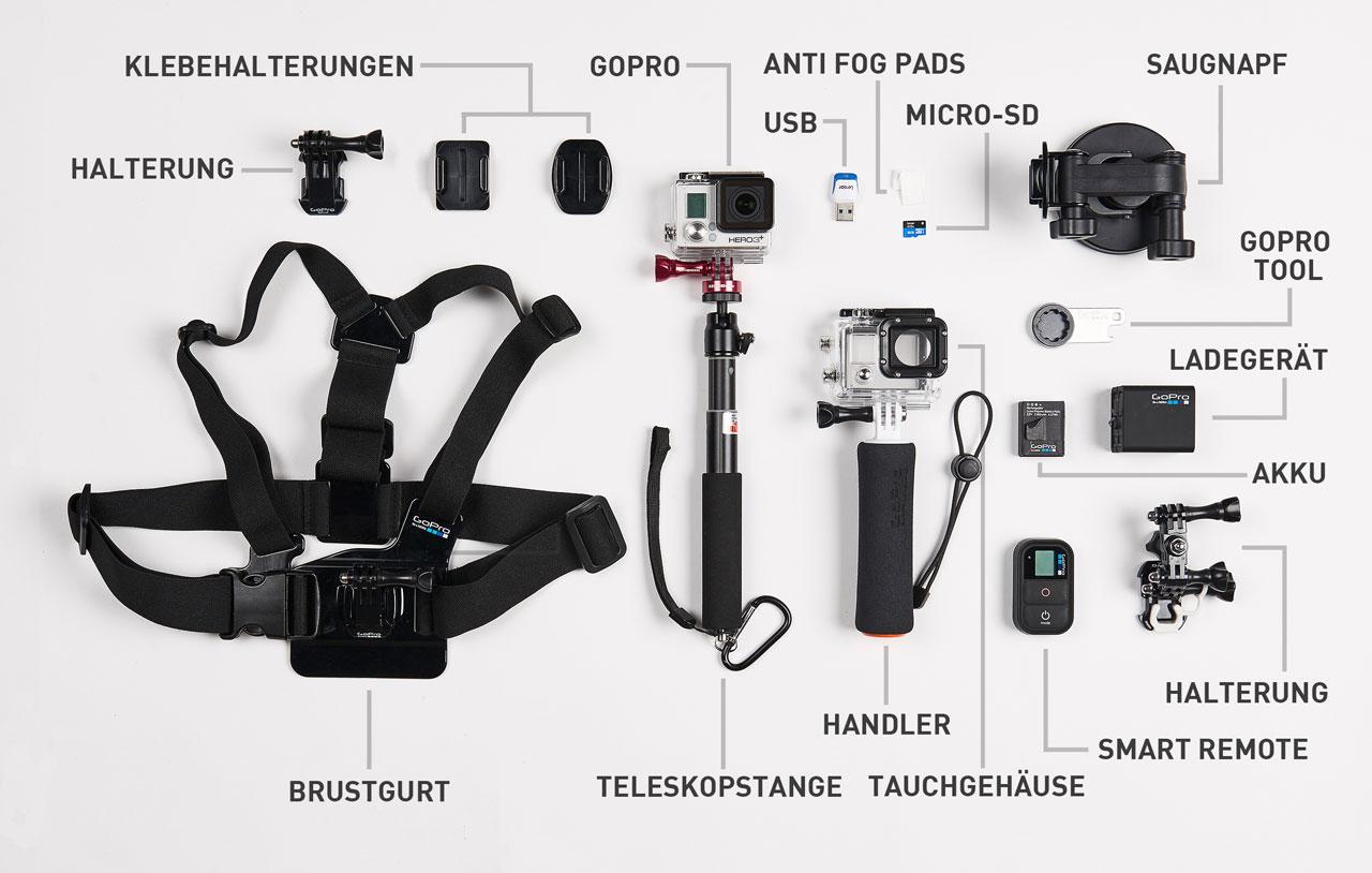Fotozubehör GoPro Equipment