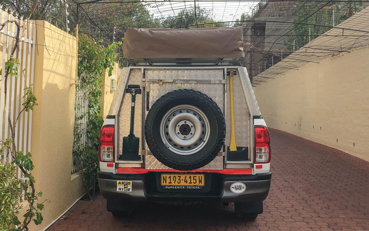 Auto fahren Botswana Mietwagen Ausrüstung Tipps
