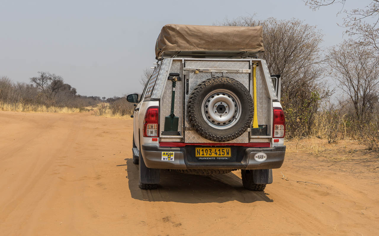 Autofahren Botswana Tipps Kreuzung Linyanti Savuti Tiefsand Piste