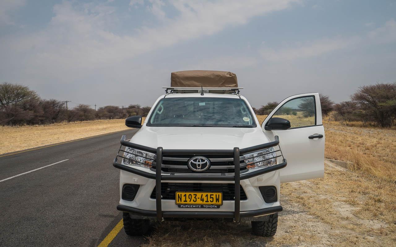 Autofahren Botswana Tipps Müdigkeit Pausen