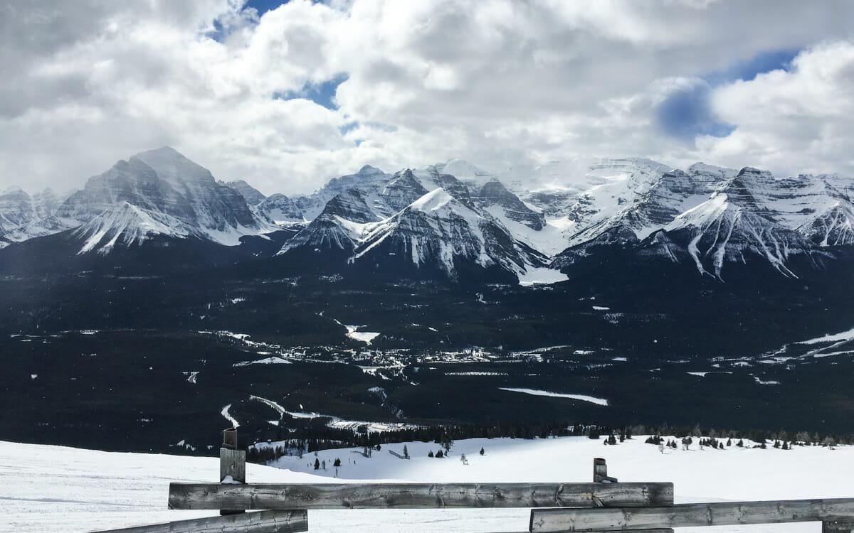 Kanada Skifaren Lake Louise Skiresort