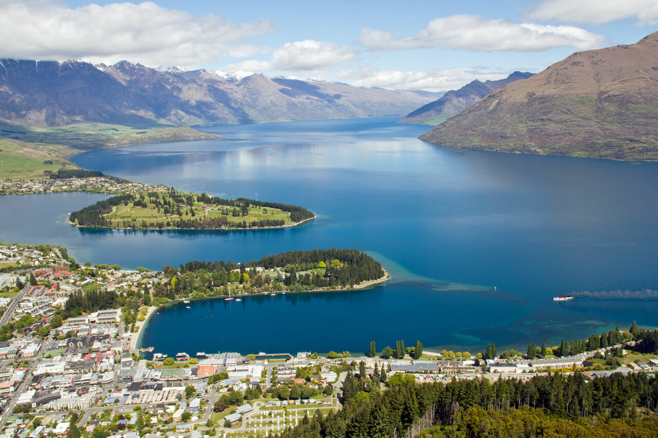 Neuseeland Tipp: Lake Wakatipu bei Queenstown