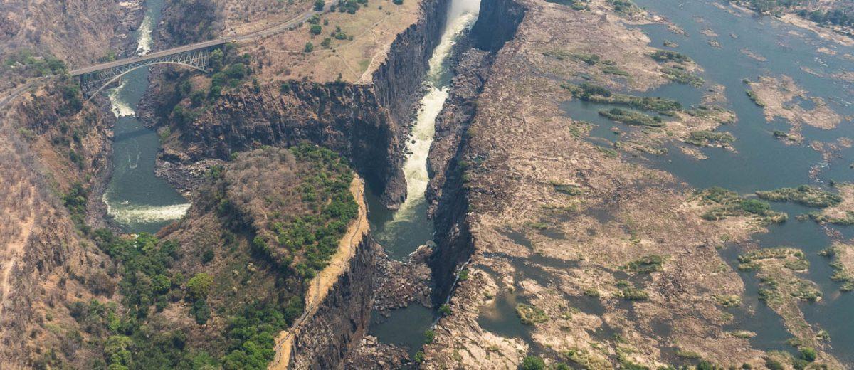Tagesausflug zu den Victoria Falls in Simbabwe