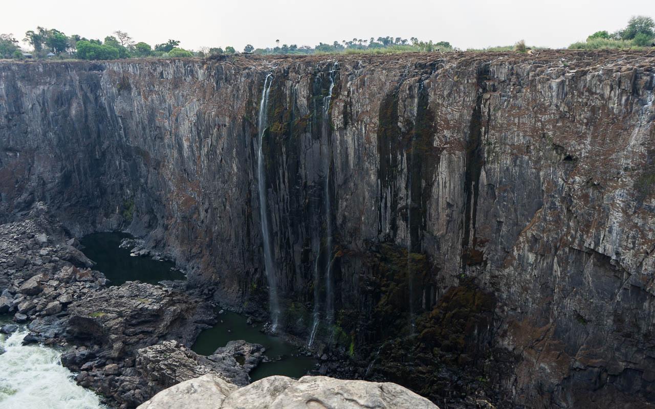 Victoria Falls Rainbow Falls