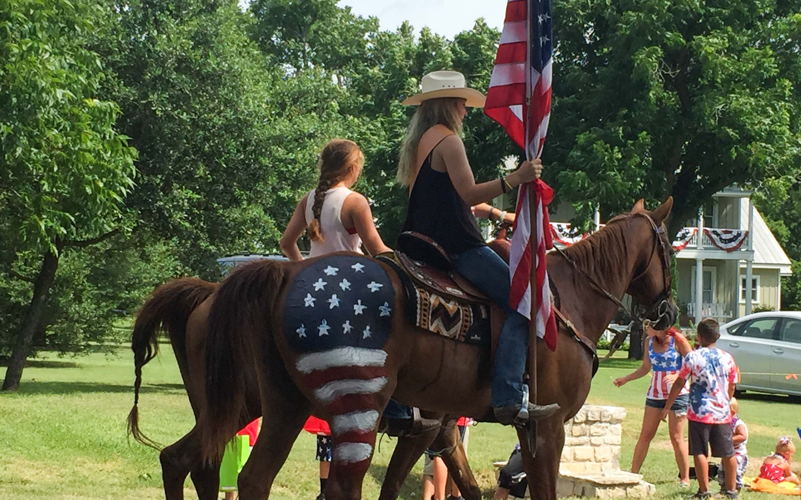 Austin Texas Tipps 4th July Round Top – Parade