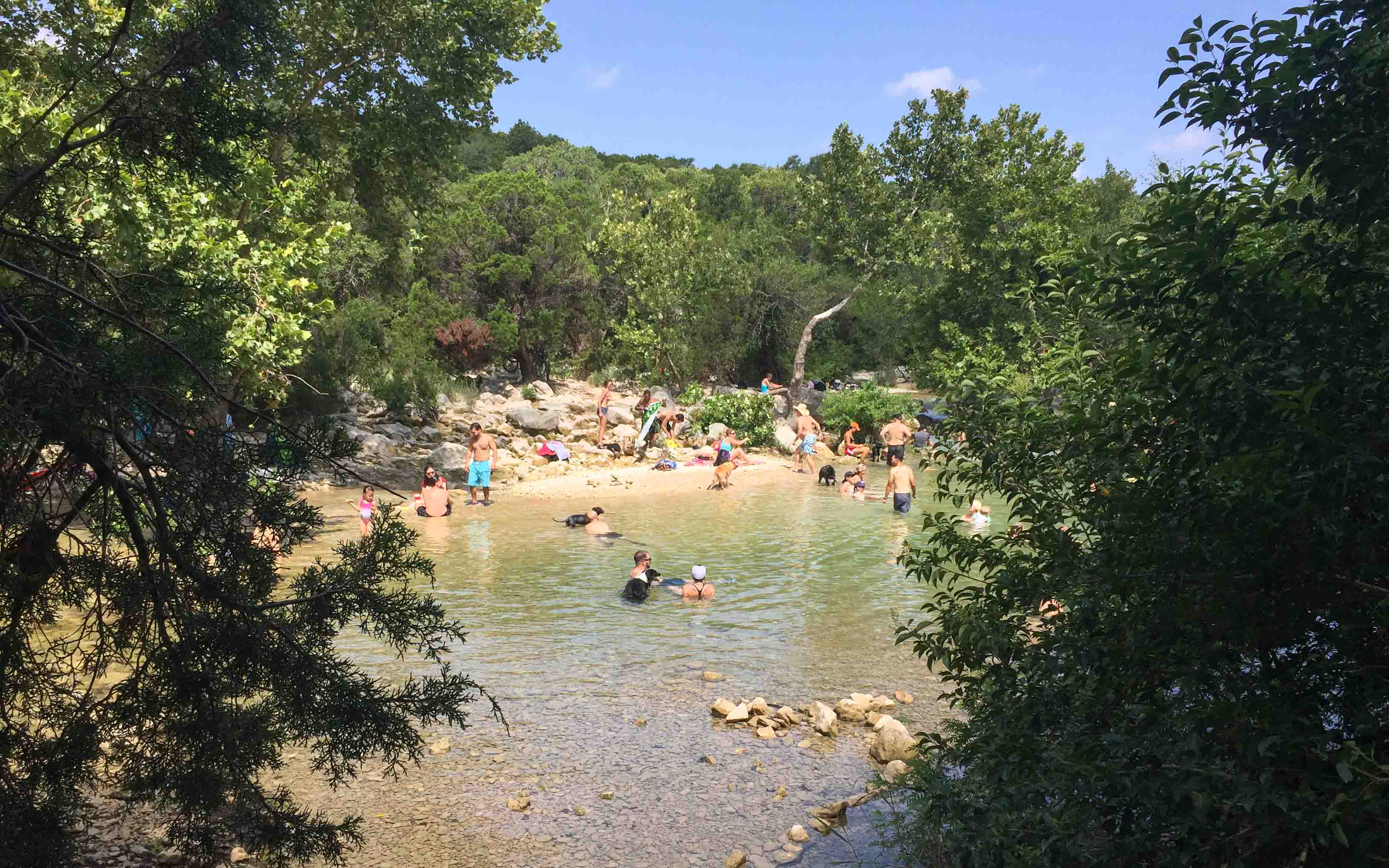 Austin Texas Tipps Greenbelt Barton Creek
