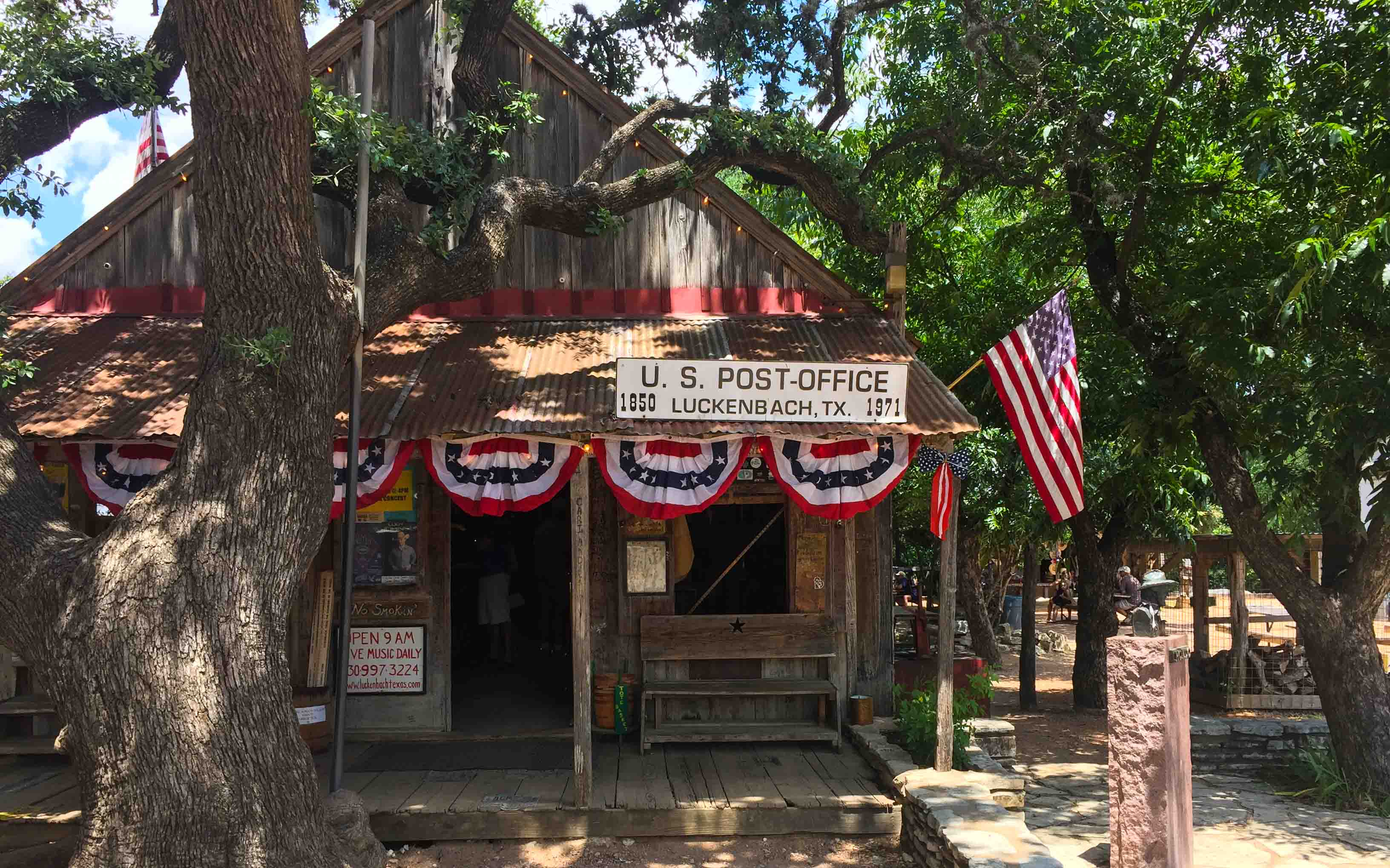 Austin Texas Tipps Luckenbach Post Office
