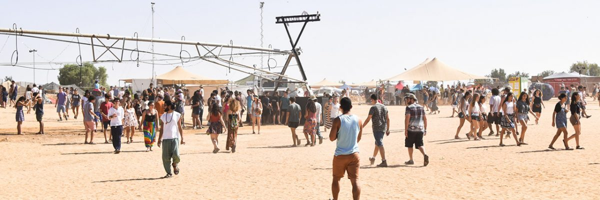 Musikfestival in der israelischen Wüste: InDNegev 2016