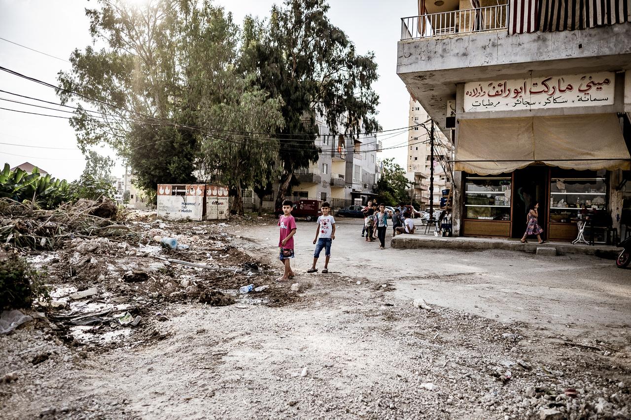 Libanon Zerstörung