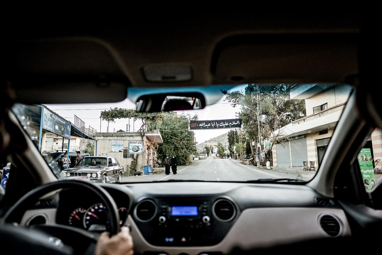 Libanon Straße Auto