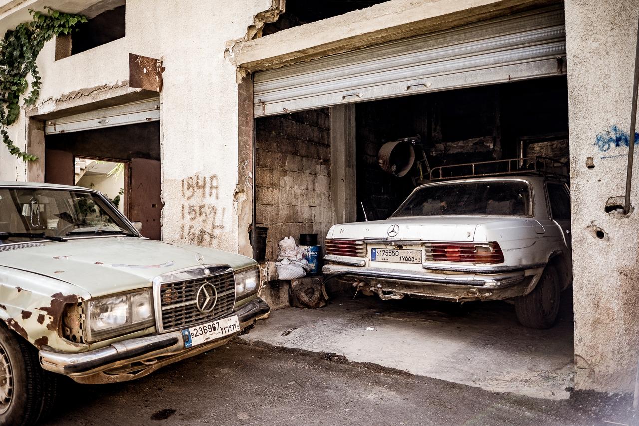 Libanon Reise Mercedes Benz
