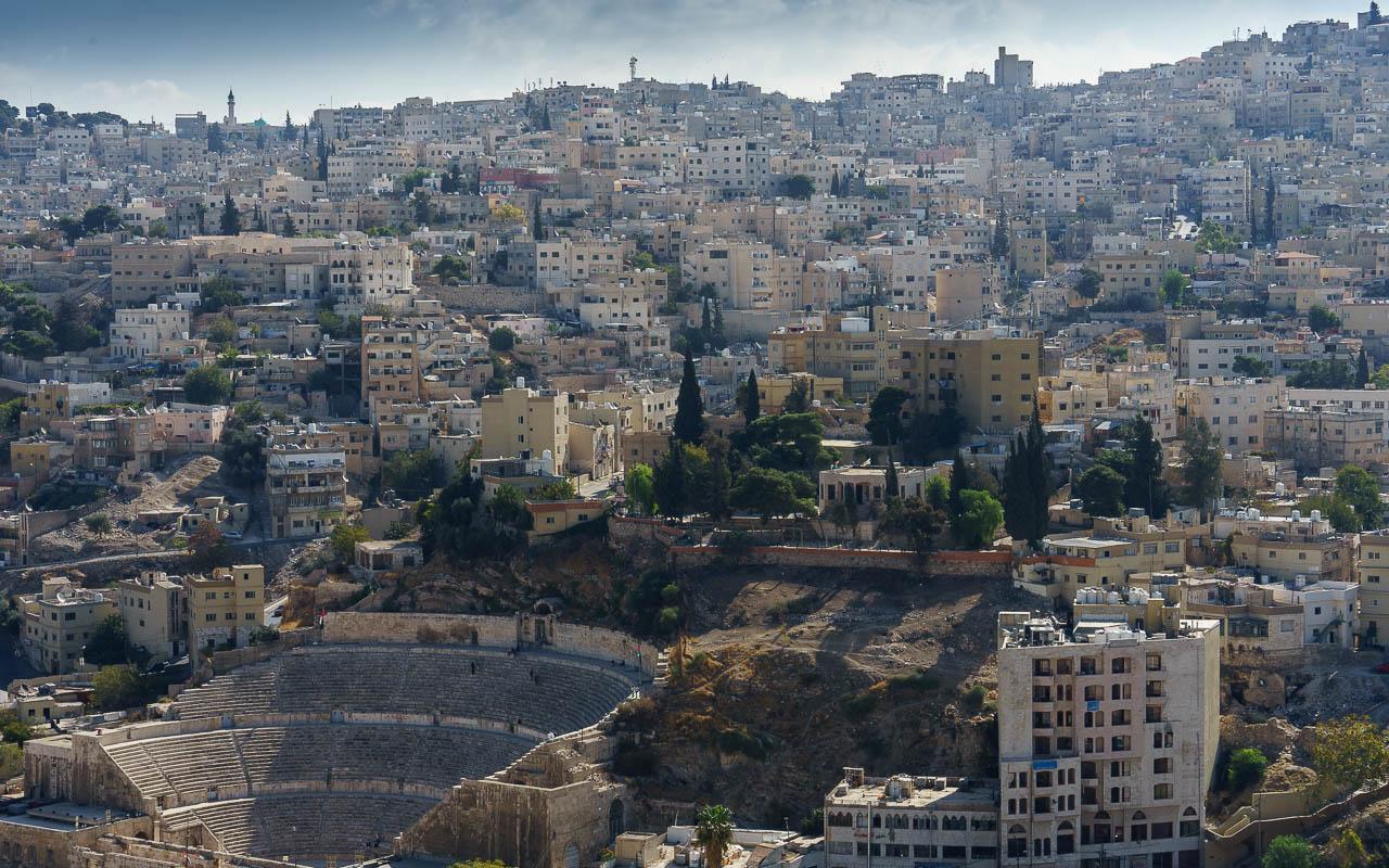 Jordanien Rundreise Tipp Amman römisches Theater