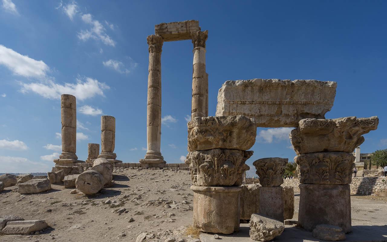 Reisebericht Jordanien Rundreise Amman Zitadellenhügel