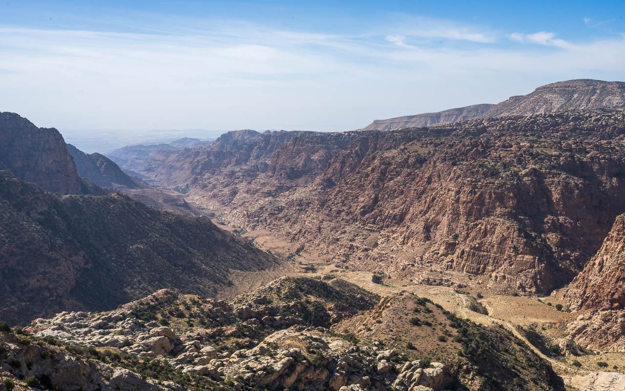 reisebericht-jordanien-rundreise-dana-naturreservat-ausblick