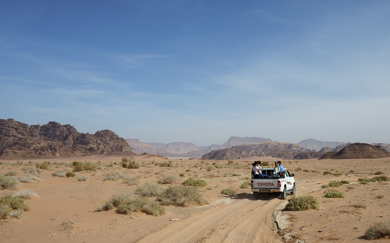 Wadi Rum Jeep Safari