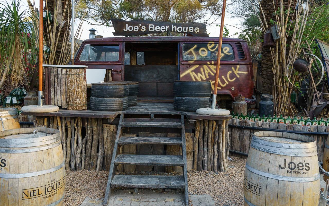 Windhoek Joes Beerhouse Tipp biergarten