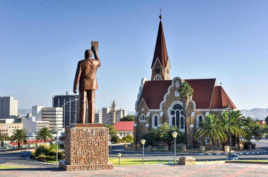 Windhoek Sehenswürdigkeiten Christuskirche