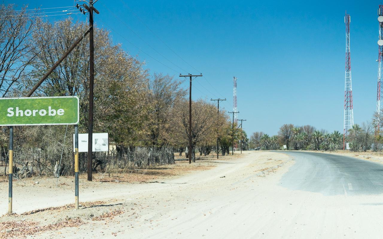 Okavango Delta Teerstraße Shorobe