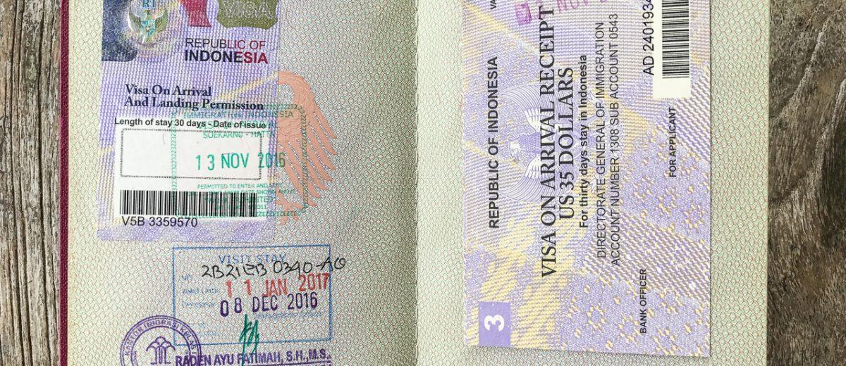 Visum für Indonesien beantragen – so geht's!