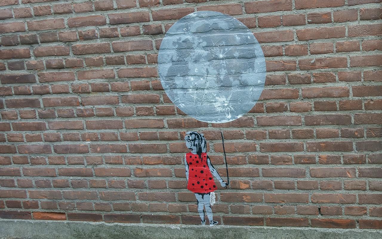 Street Art in Nijmegen am Honigkomplex
