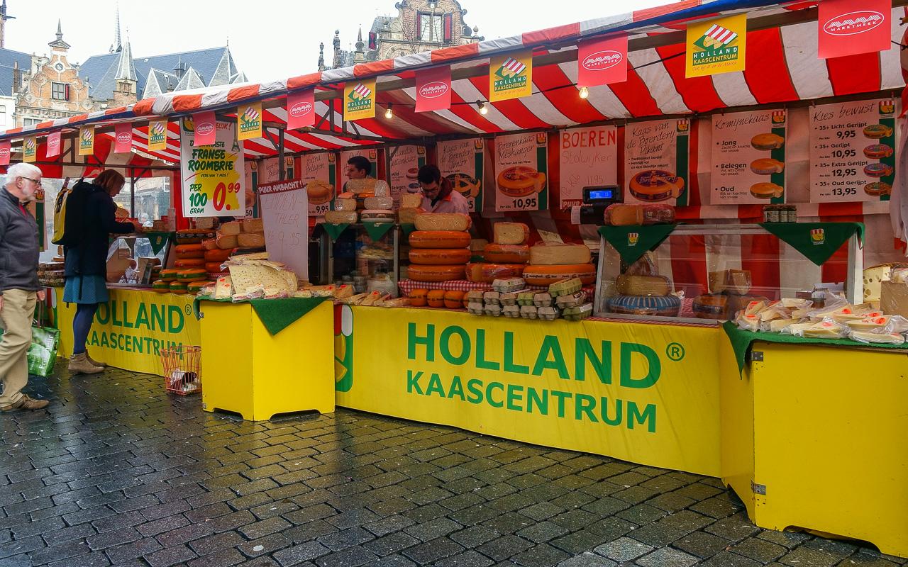Gelderland Nijmegen Markt Samstag