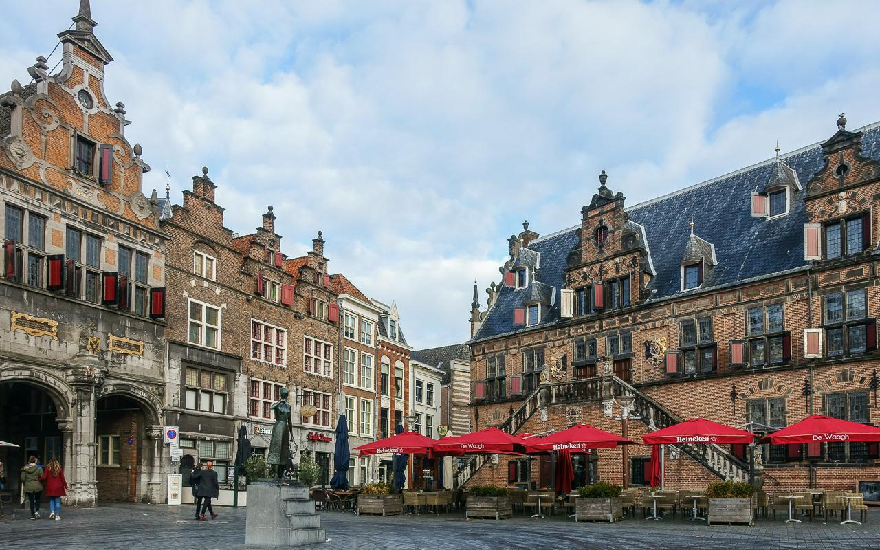 Gelderland Nijmegen Marktplatz