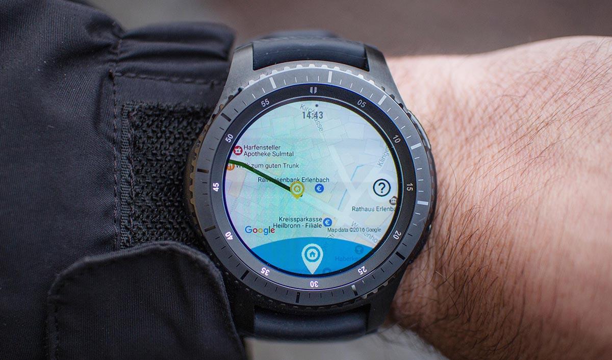 samsung gear s3 navigation