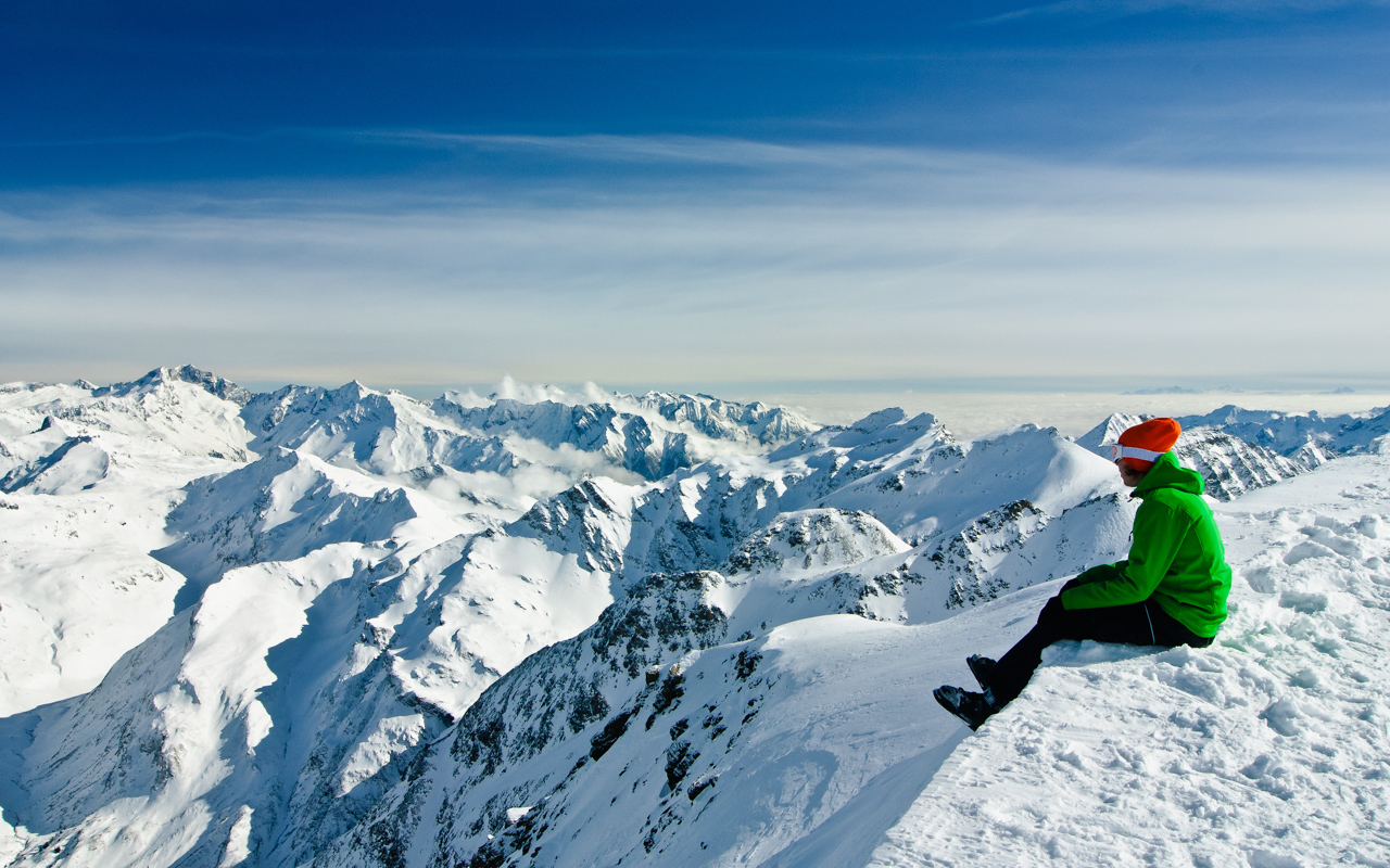 Urlaub im Februar Alpen