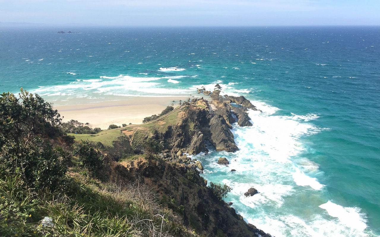 Australien Ostküste: Cape Byron - Byron Bay