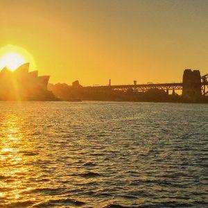 Australien Ostküste Sydney Oper Harbour Bridge