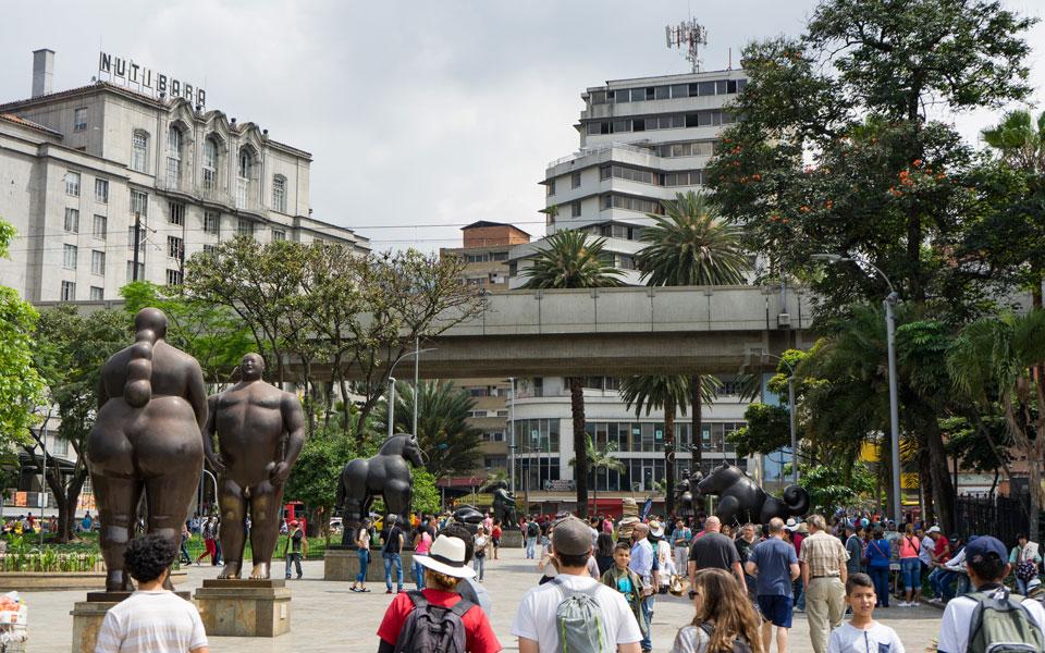 Botero Square Medellin Centro
