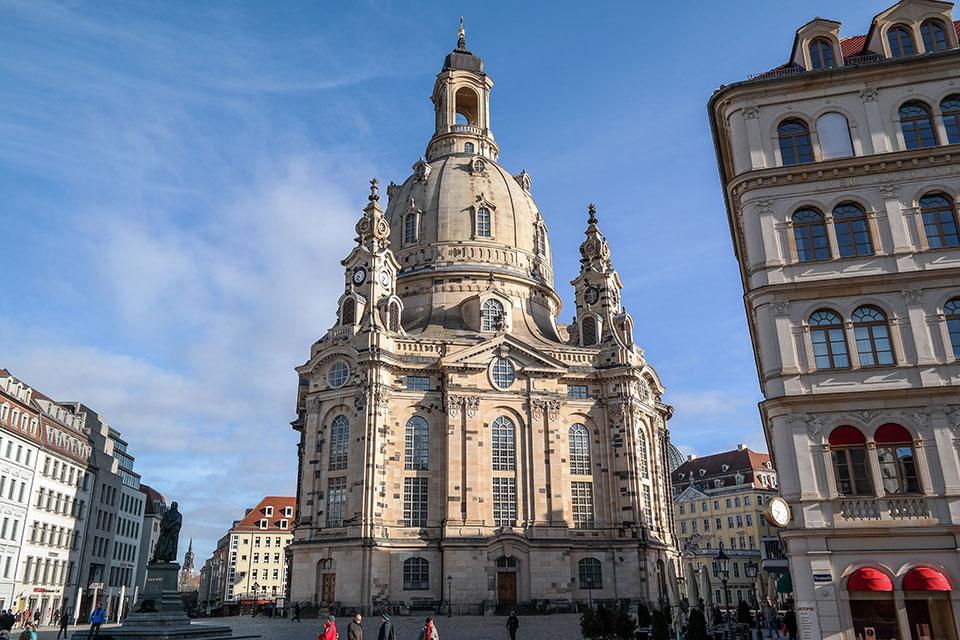 Frauenkirche in Dresden - Top Sehenswürdigkeit