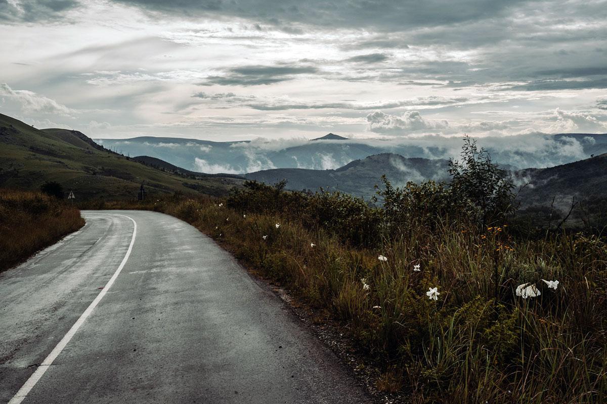 Fahrt von Pilgrim's Rest nach Graskop