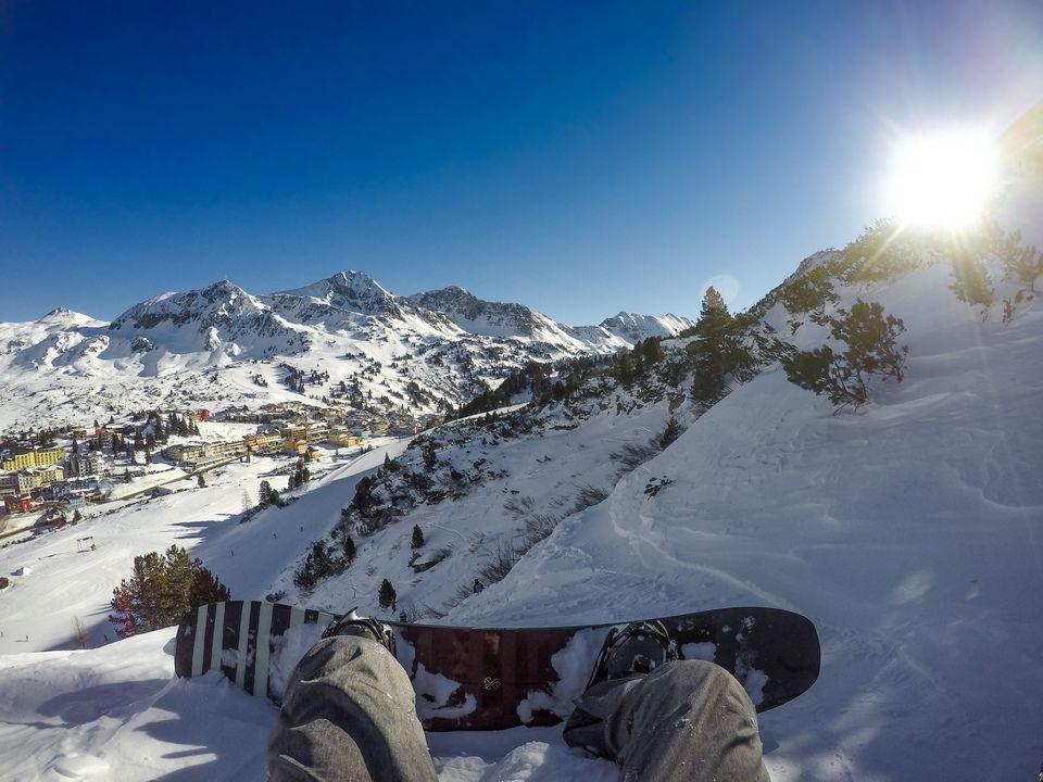 Freeride Guiding mit Ausblick auf Obertauern