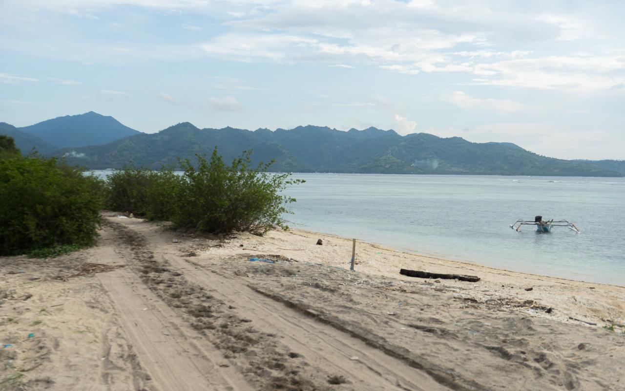 Gili Islands Fahrrad fahren