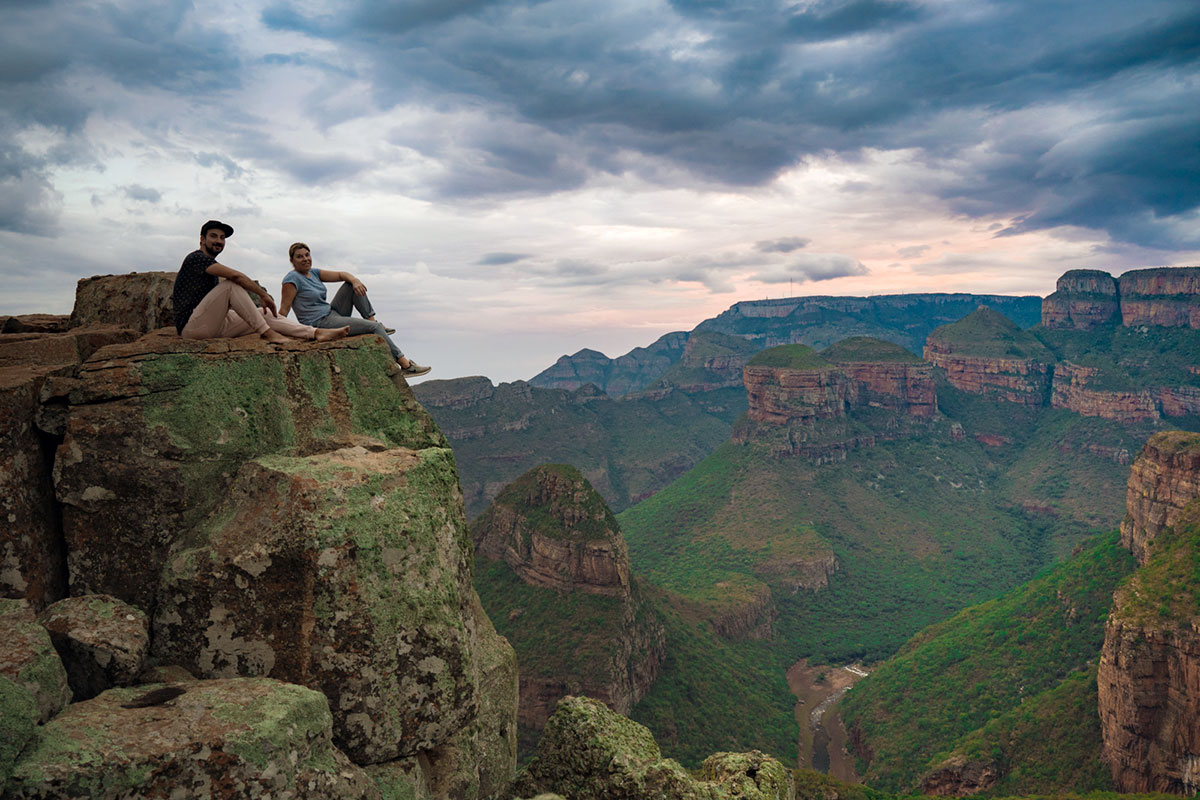 Worlds End Upper Viewpoint Blyde River Canyon