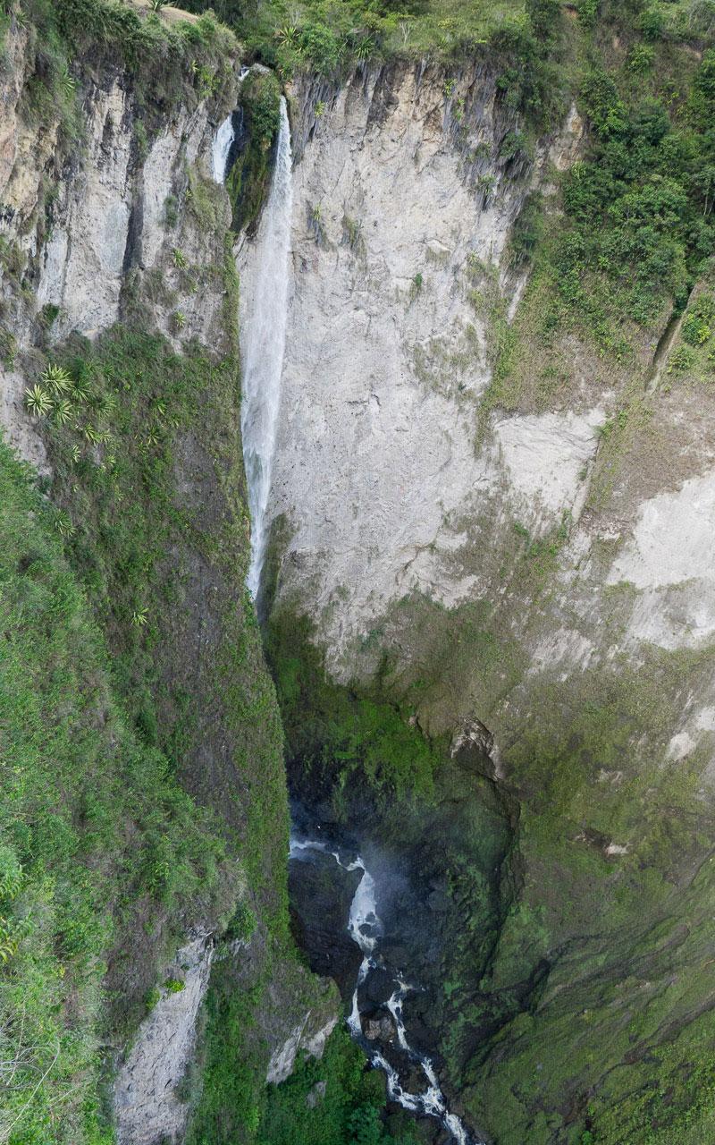 San Agustin: Wasserfall Salto de Mortiño