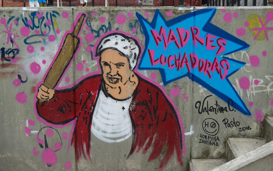 Comuna 13 Street Art Madres Luchadores