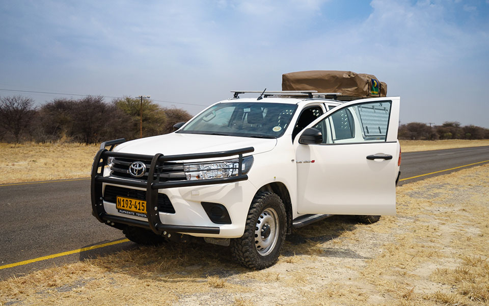 Auto fahren in Botswana und Namibia