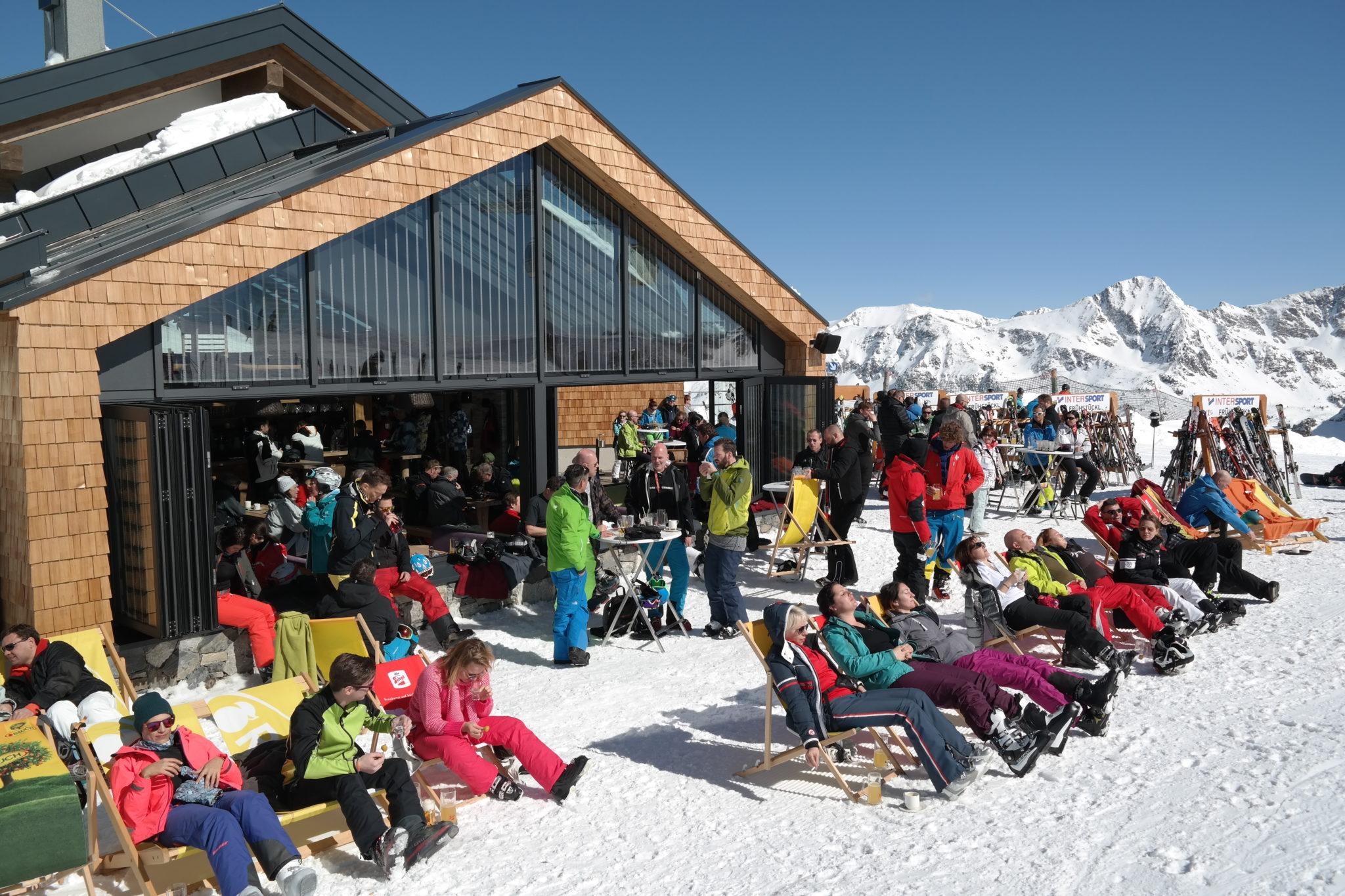 Die Gamsmilchbar - Obertauerns höchstgelegene Skihütte