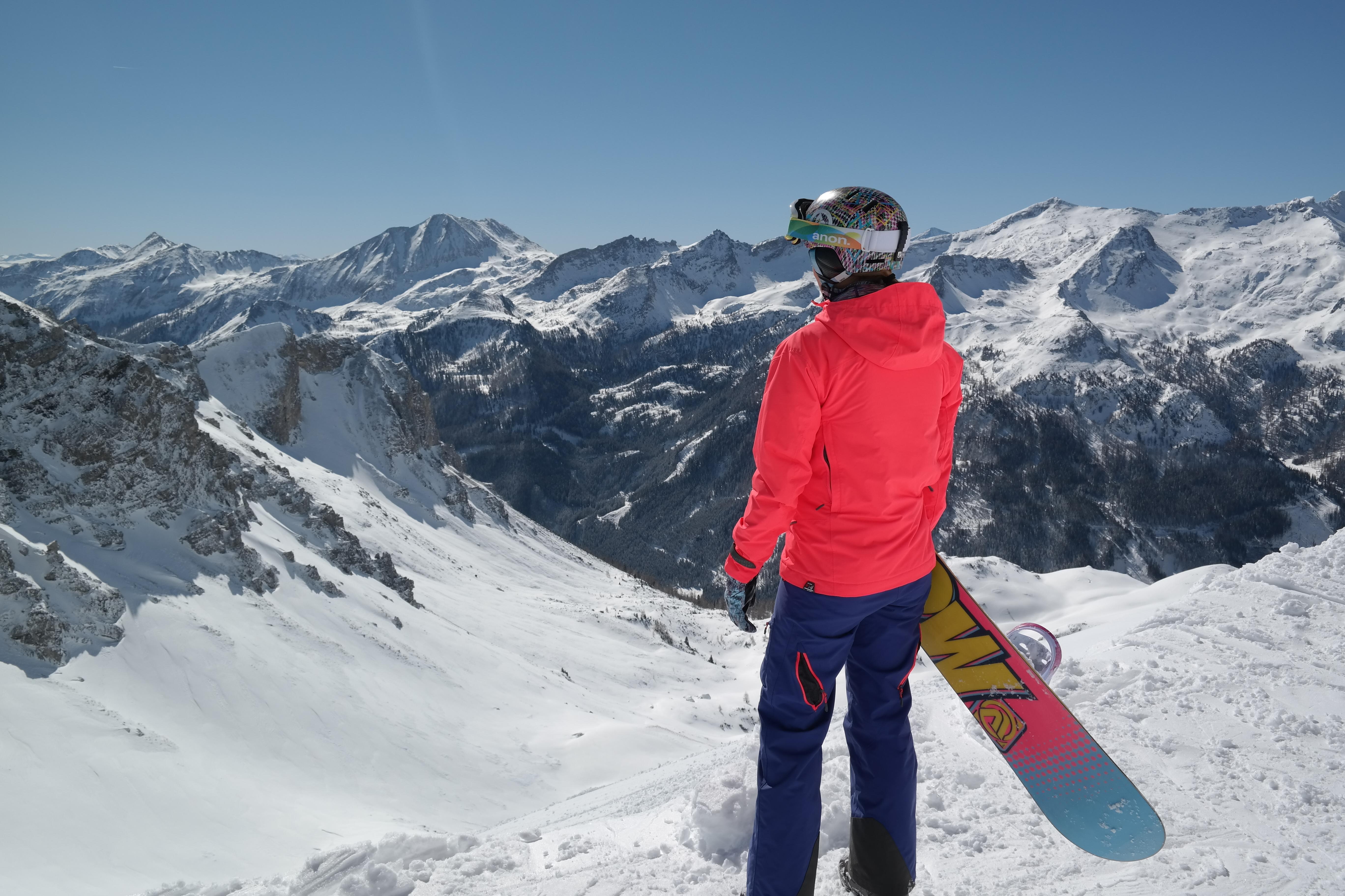 Ausblick auf Obertauerns Bergpan