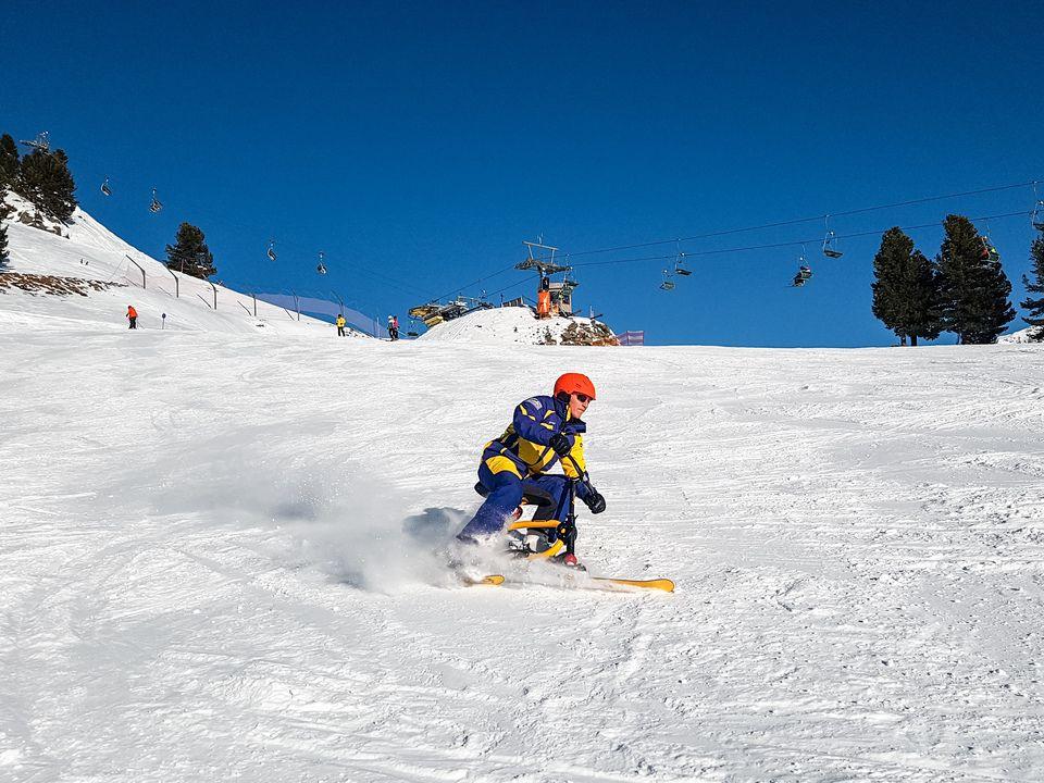 Trendsportart Snowbike mit Weltrekordhalter Hermann Koch