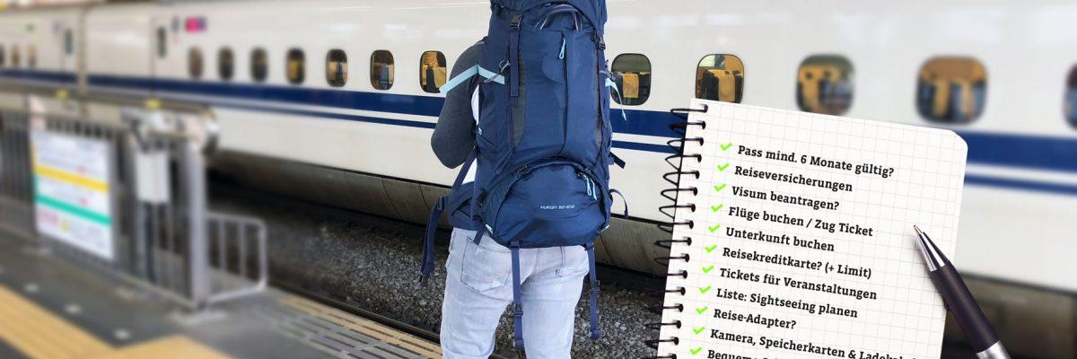 Die Packliste für jeden Urlaub zum Ausdrucken und Abhaken