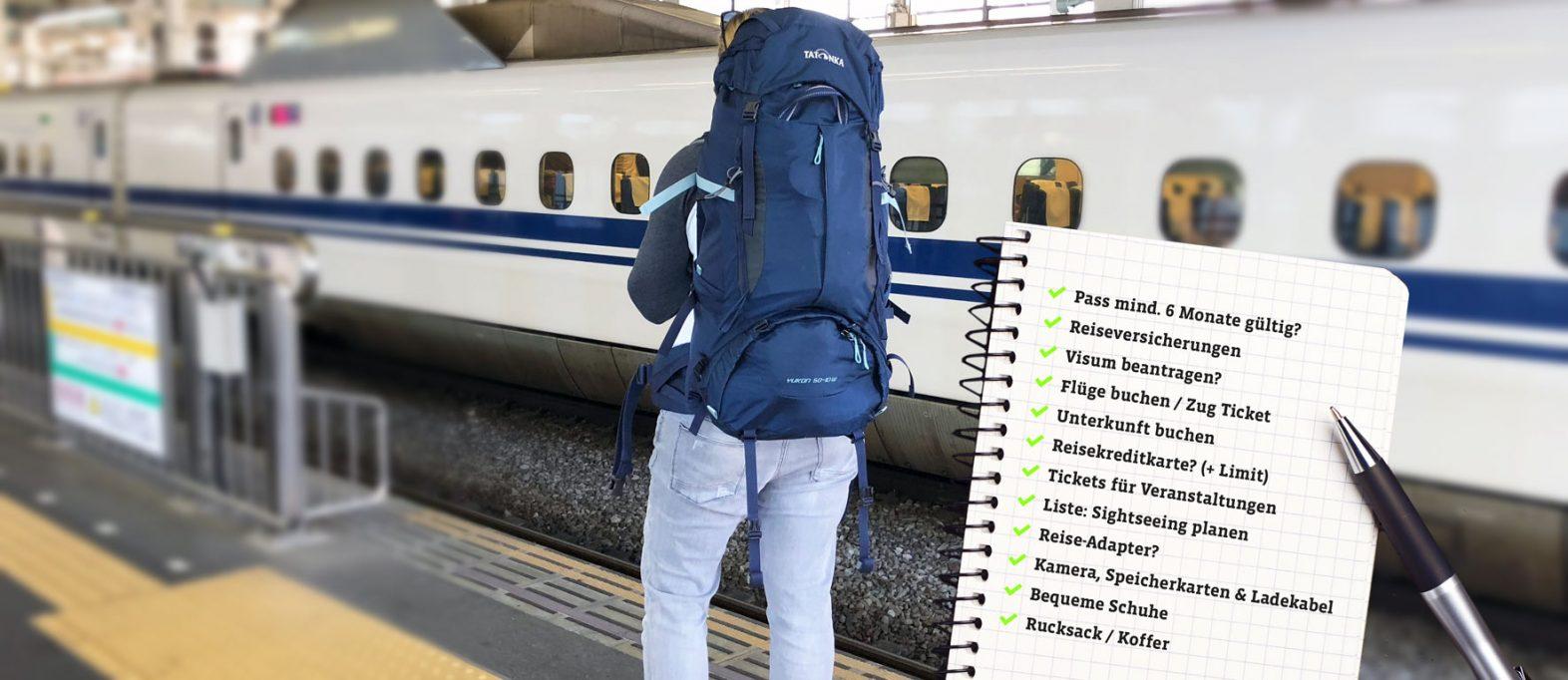 Die Packliste für jeden Urlaub als PDF zum Ausdrucken
